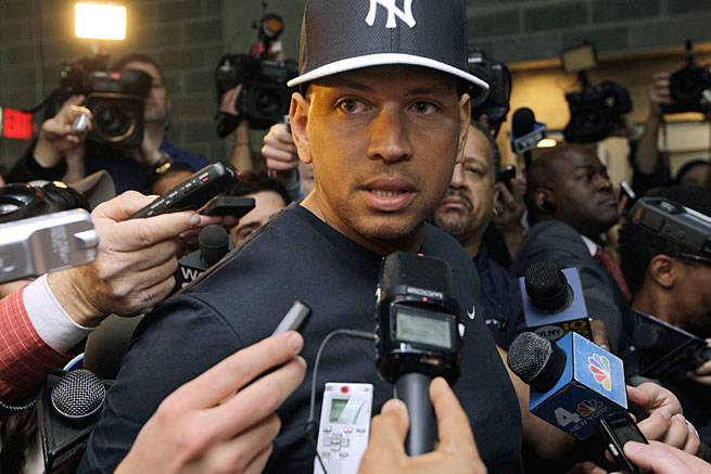 Not Wanting To Go Down Alone Sources State Alex Rodriguez Leaked The Names Of Teammates