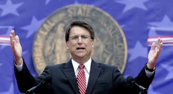 North Carolina Governor Pat McCrory's Popularity Plummets After Attacks On Women And Unemployed