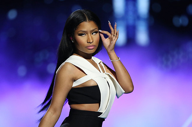 LOS ANGELES, CA - JUNE 28:  Recording artist Nicki Minaj performs on stage during the 2015 BET Awards on June 28, 2015 in Los Angeles, California.  (Photo by JC Olivera/WireImage)